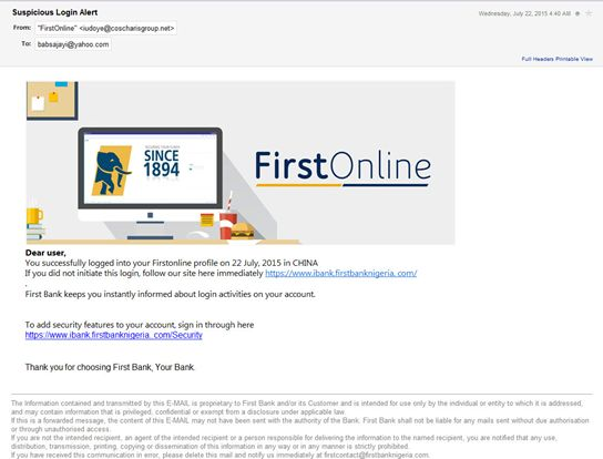 ibank firstbank nigeria