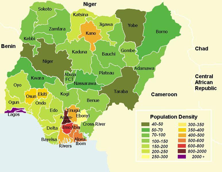 Where is Nigeria? Location of Nigeria